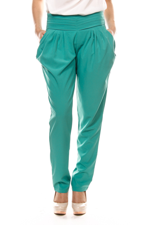 Solid Color Harem Pants | Papalulu
